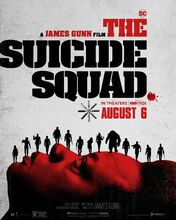Plakat filmu Legion samobójców. The Suicide Squad
